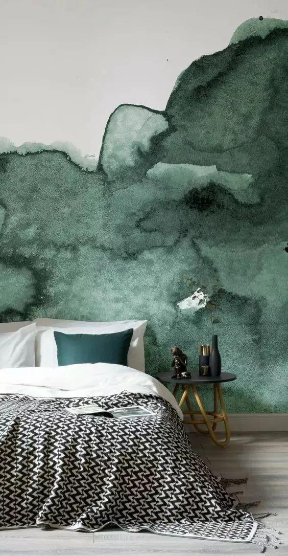 墙纸花样这么多,大白墙从此不单调