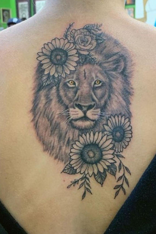 lion tattoo sleeves