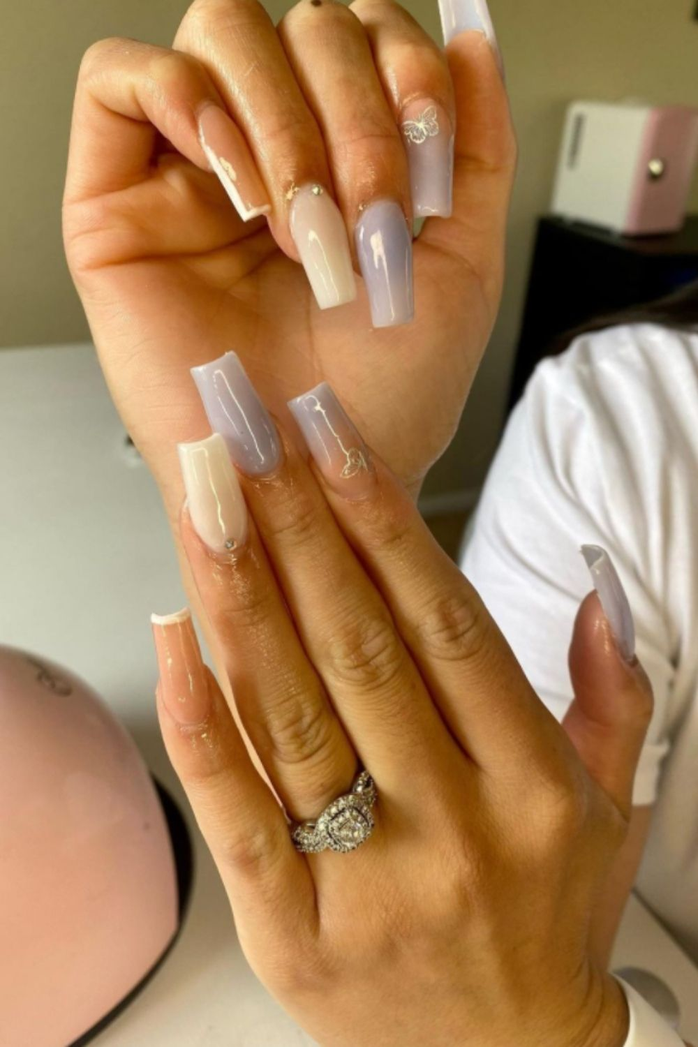 other coffin nailstyle for summe