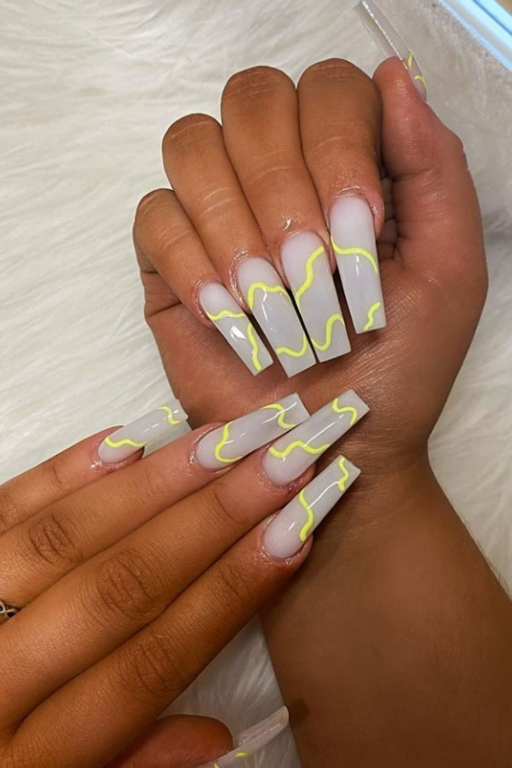 other coffin nailstyle for summer