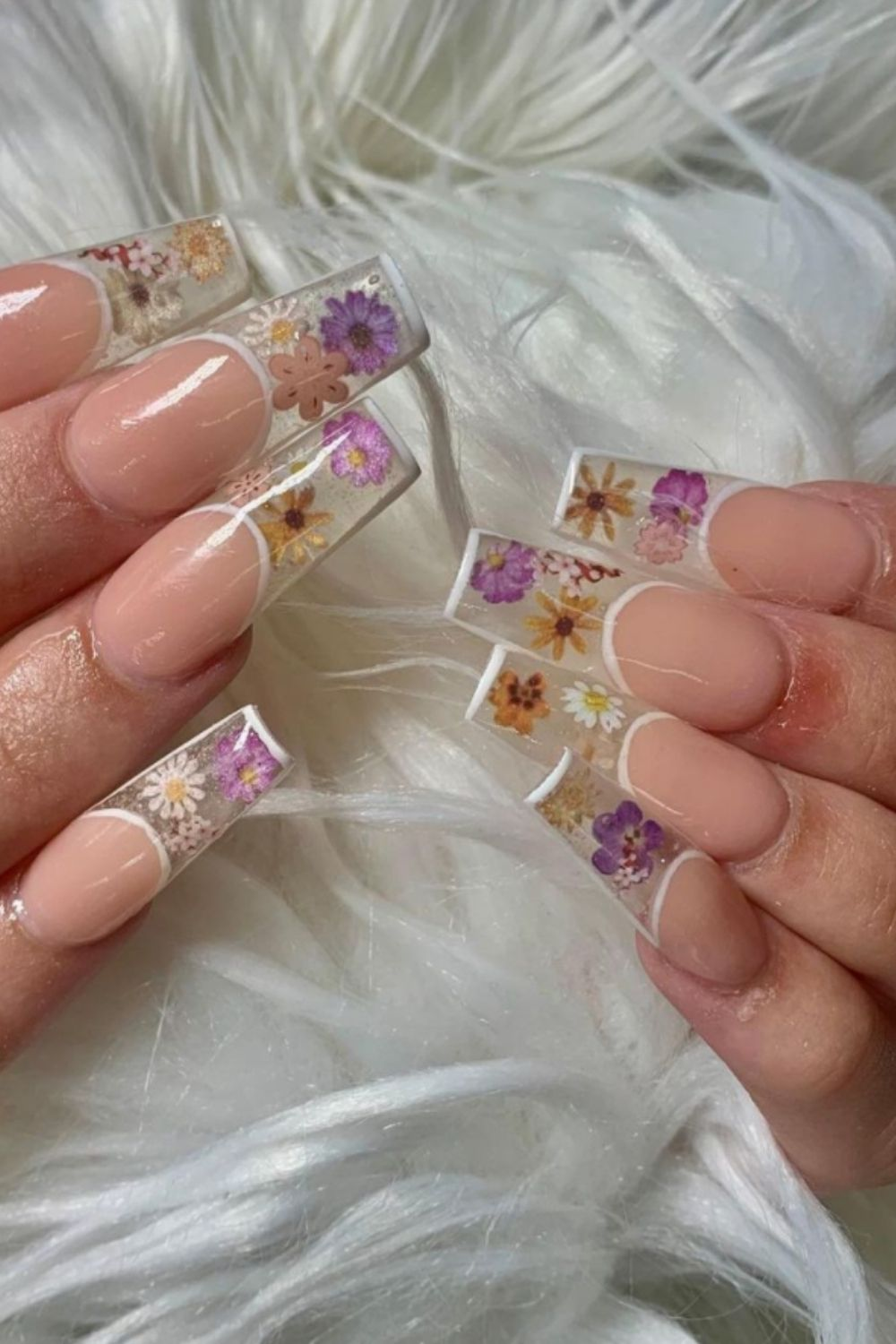 French Acrylic Nails: 40 Modern Nail Designs You Should Try!