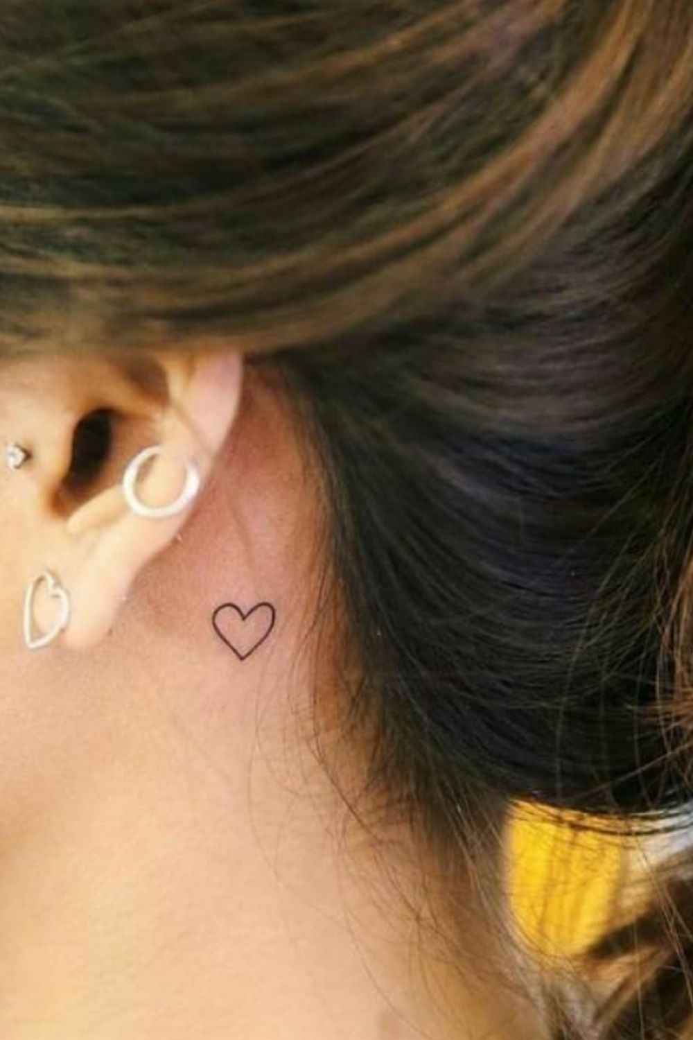 Behind Ear Tattoo: 40 Tiny Tattoo Designs For Girls To Try!