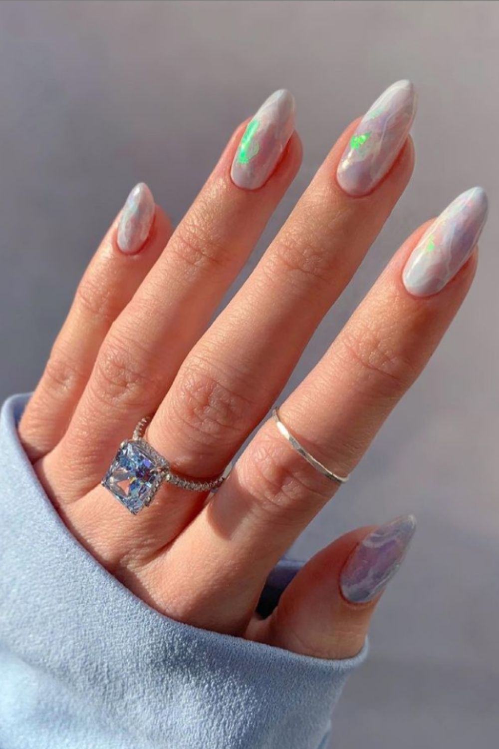 Almond Nails: 40 Cute Nail Art To Attractive You In summer 2021!