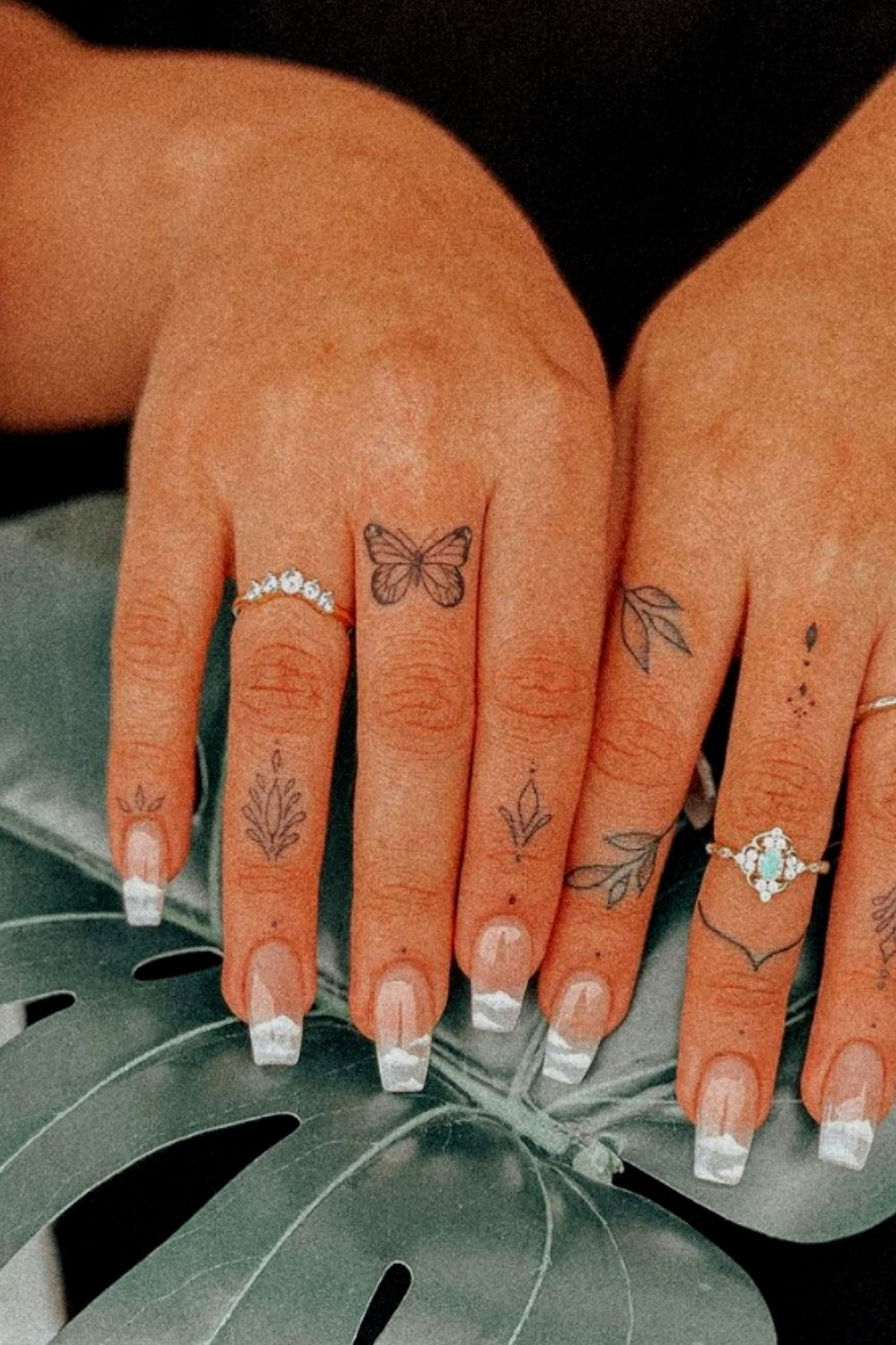 Sexy butterfly tattoo designs