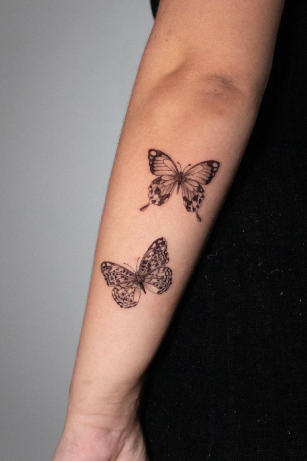 40+ Beautiful butterfly tattoo ideas unique for female