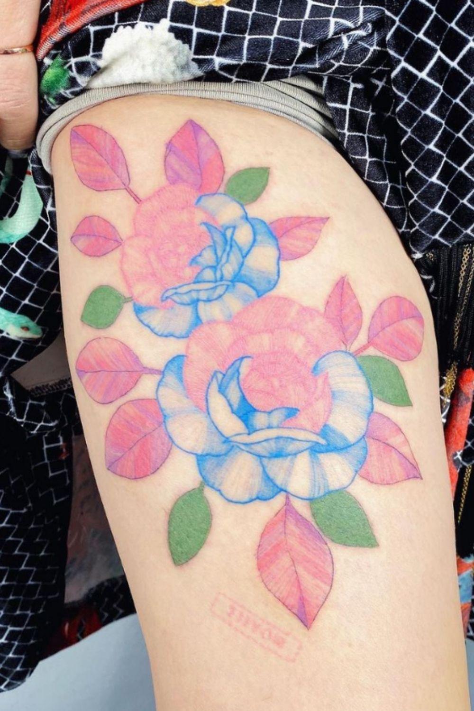 Elegant Rose Tattoo Designs for Sweet Women You Must Love 2021