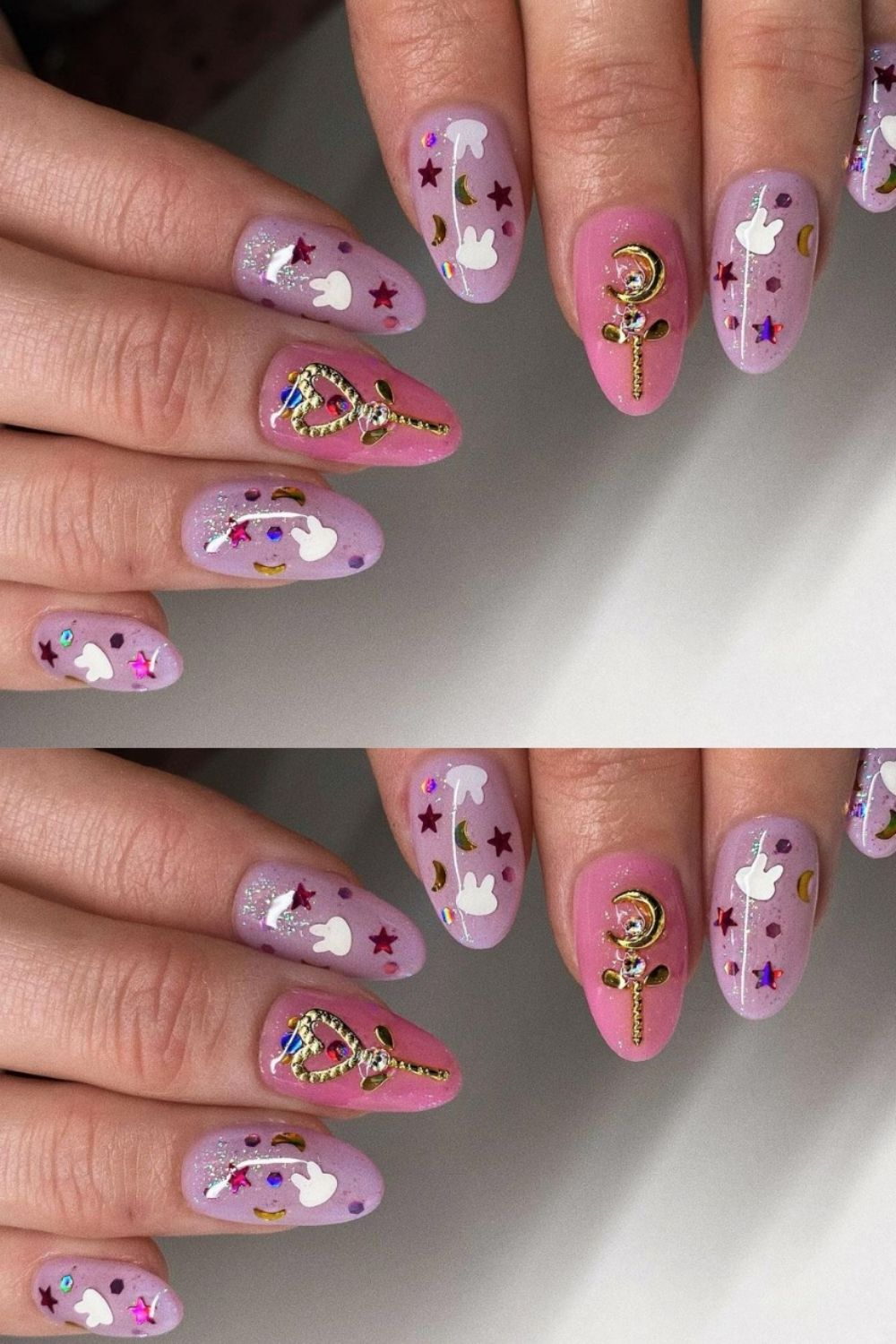 35+ Amazing Glitter Acrylic Nails You Want To Try In 2021!