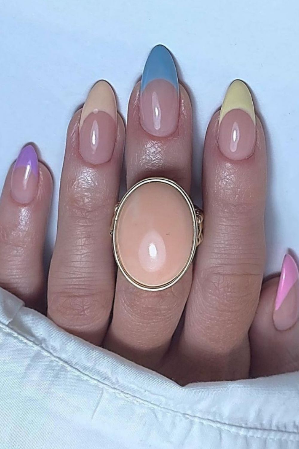 Pretty Summer Acrylic Nails To Try When You Go A Vacation!