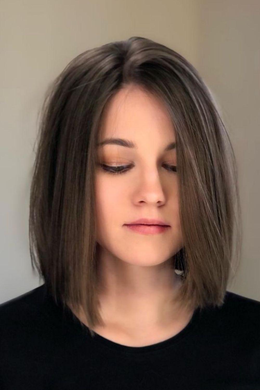 Fine hair short bob haircuts |short hairstyle for 2021