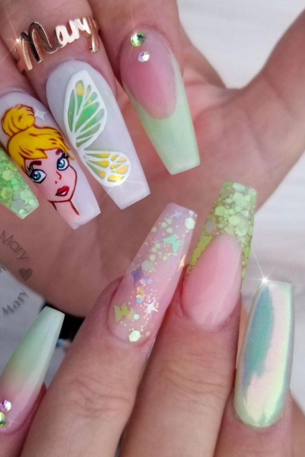 Coffin nails with French tip |35 Cute Nails With French Tips To DIY Now