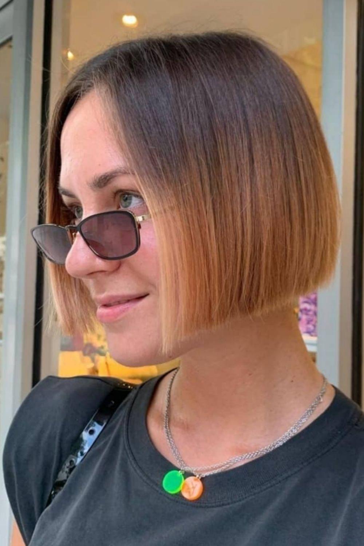 Fine hair short bob haircuts  short hairstyle for 2021