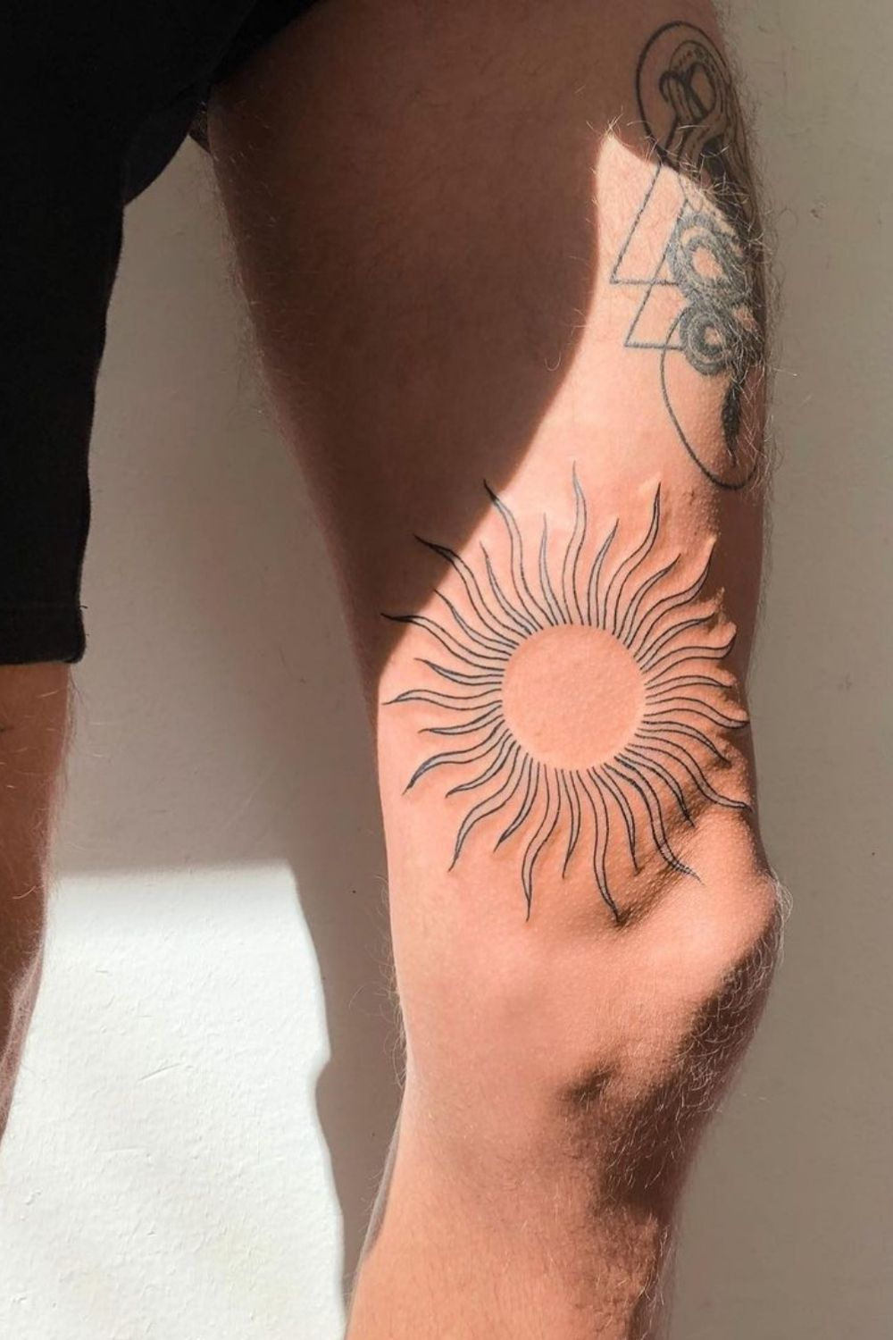 Sun and moon tattoo designs for best and meaningful tattoo design 2021