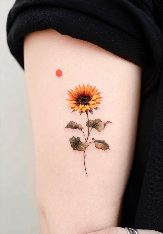 18 Amazing Sunflower Tattoo Ideas to Celebrate the Beauty of Nature