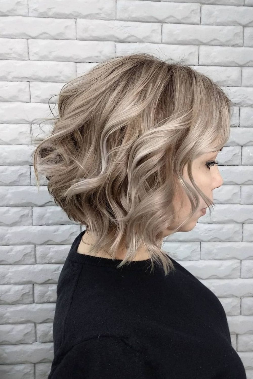 34 Cool Shoulder length haircut with bangs to try 2021