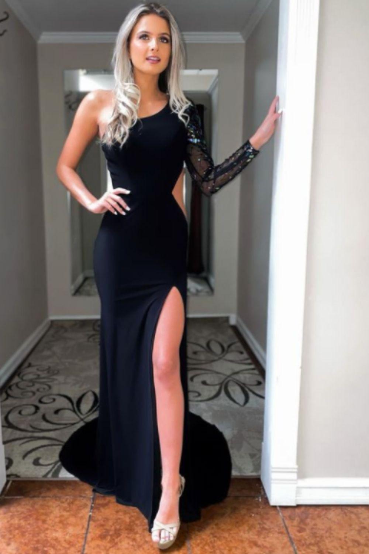 Black homecoming dresses