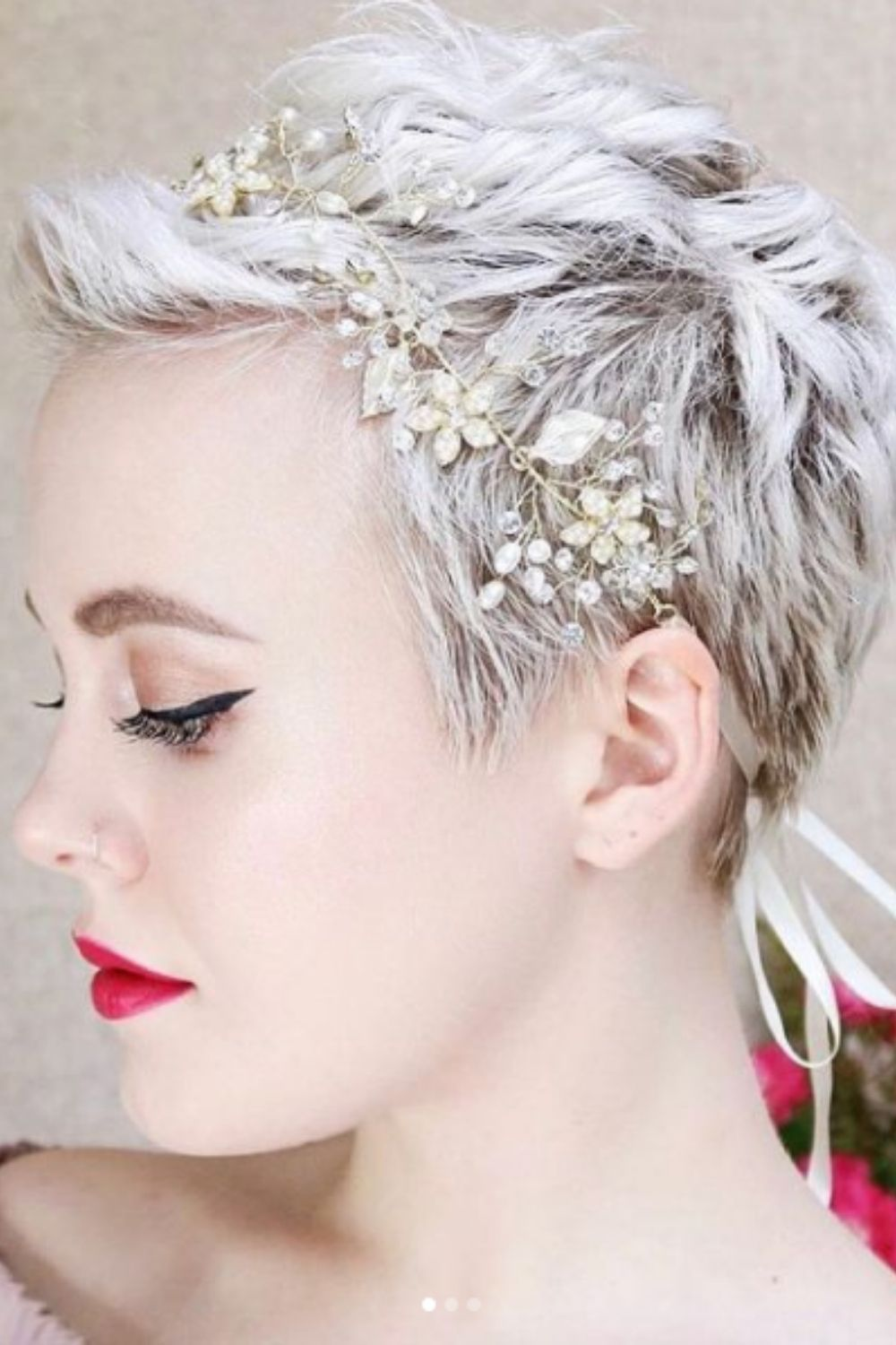 Prove wedding hairstyles for short hair do it better