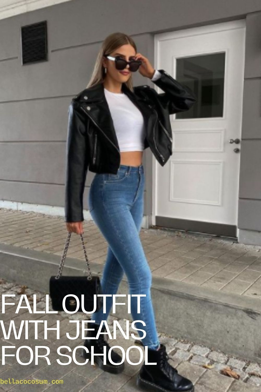 Fall outfit with Jeans